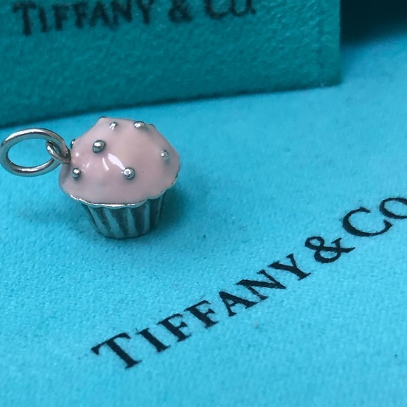 Tiffany & Co. Jewelry - 🔴Authentic TIFFANY & CO Cupcake Charm ♥️